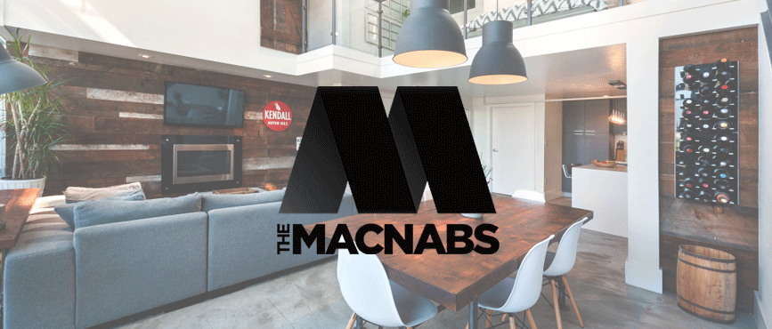 The MACNABS Vancouver loft logo by Loki Creative