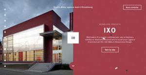 Loki Creative website design trends - Split Screen