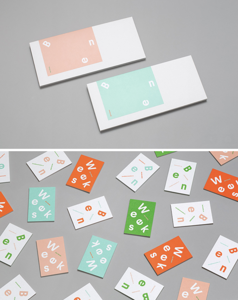 Fun business cards brand identity trends