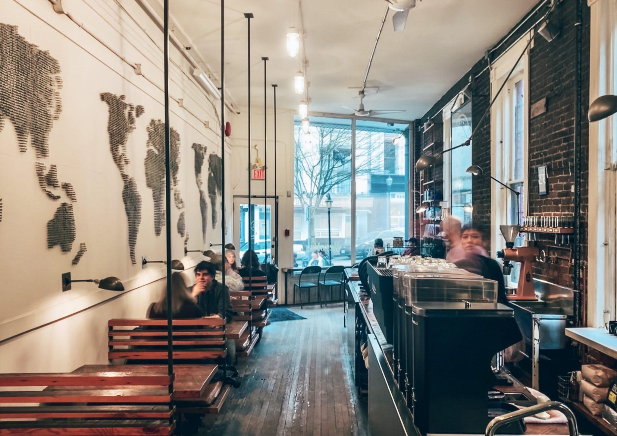 Revolver coffee shop