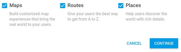 google maps api instructions